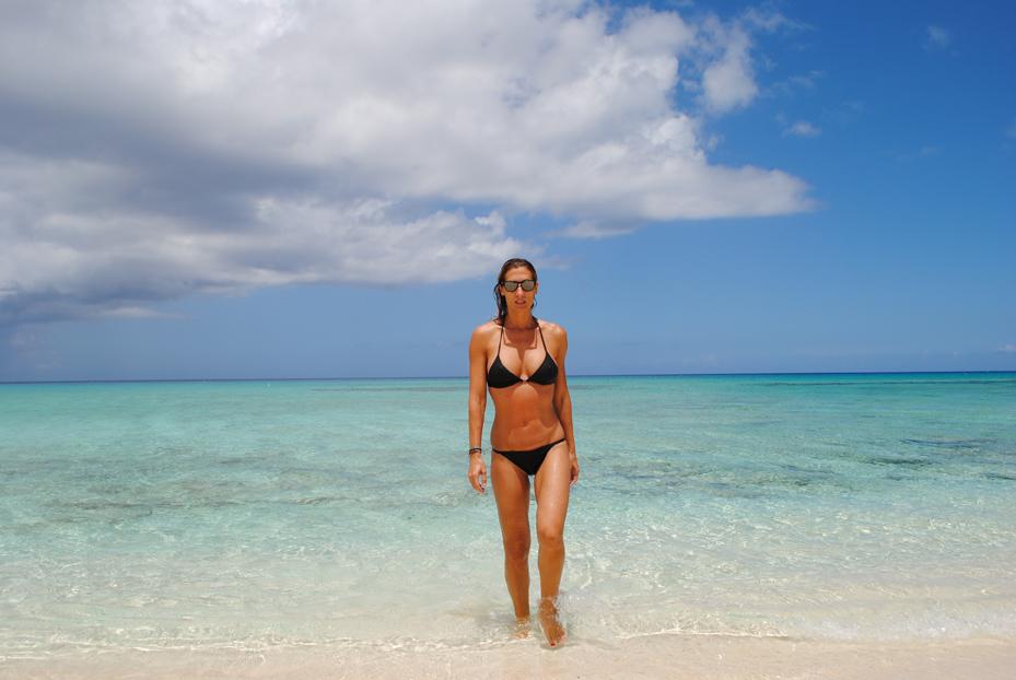 Monica Pont en el paraíso